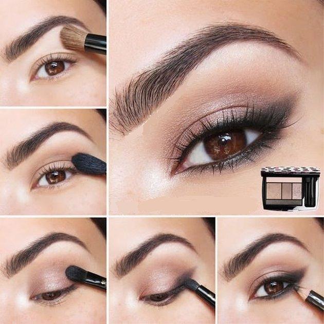 Neutral Eye Makeup Tutorial For Brown Eyes - Eye Makeup Tips 2017