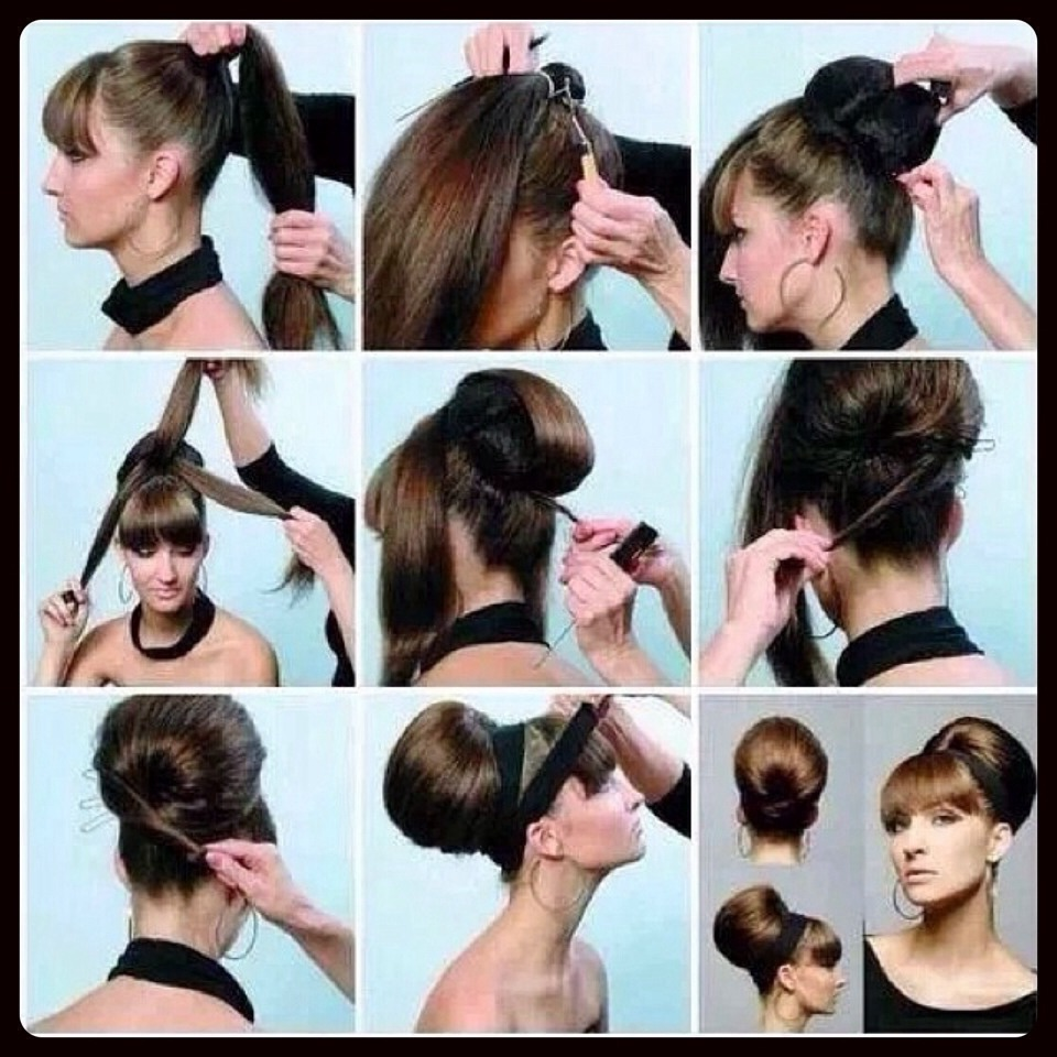 Как сделать причёски 60-х годов фото