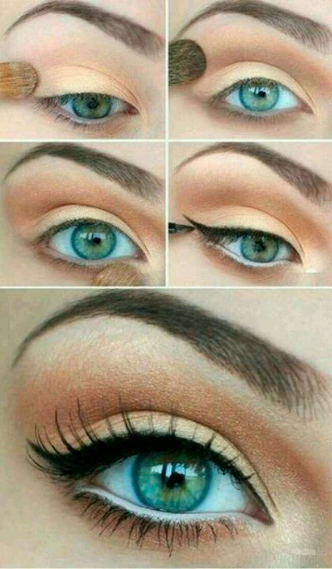 Фото красивого макияжа с инструкцией