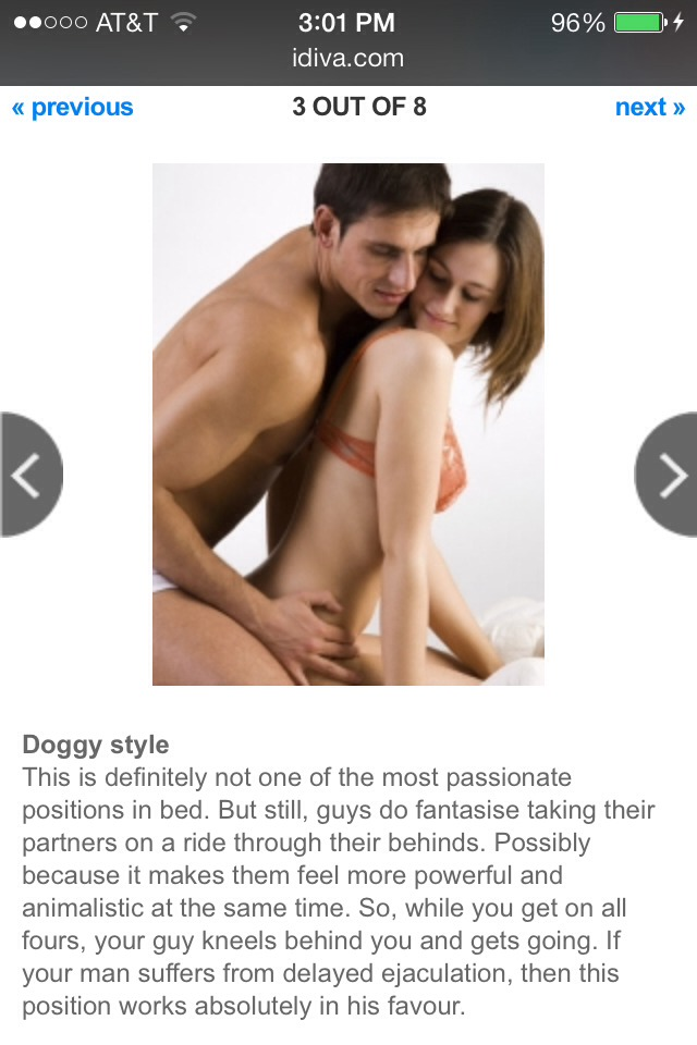 Pleasurable Sex Positions 27