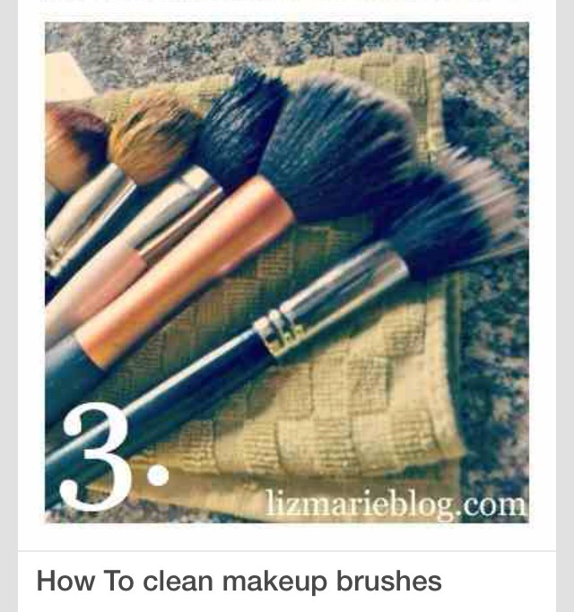 how to clean makeup brushes musely. Black Bedroom Furniture Sets. Home Design Ideas