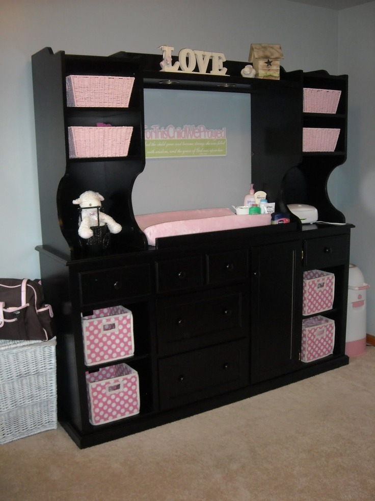 Reuse your entertainment center musely for How to reuse an entertainment center