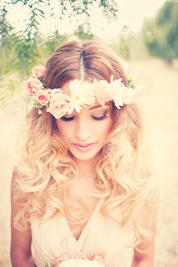 how to make a flower crown with fake flowers wikihow