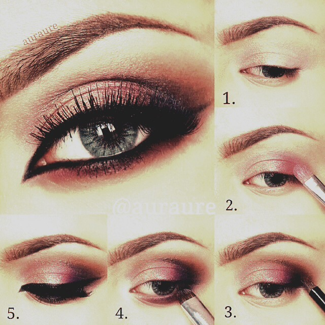 Beautiful Smoky Eye Make Up Musely
