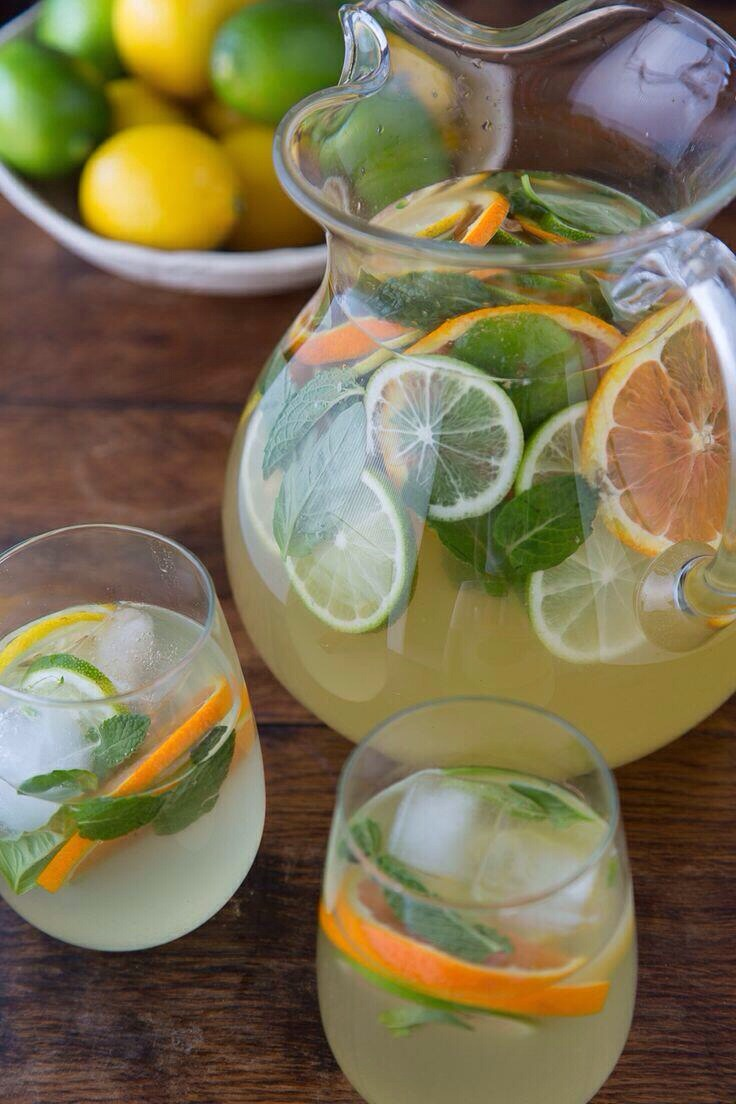 Citrus Pineapple Sangria - Musely