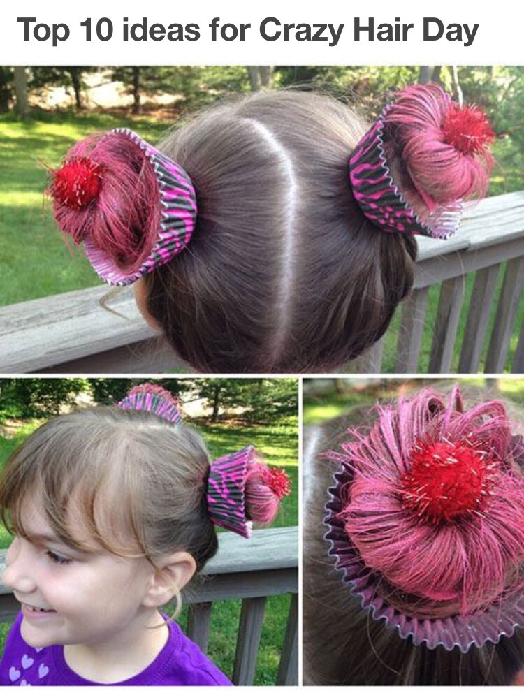 how to make crazy hair for kids