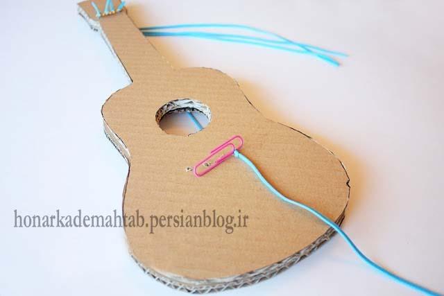 Своими руками гитару из подручных материалов 4