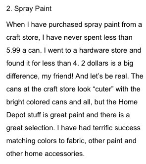 Http Sunlitspaces Com     Things You Should Never Buy At A Craft Store