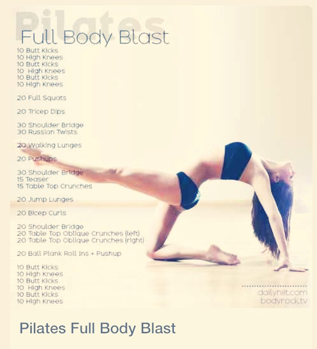 Pilates Full Body Workout 😳