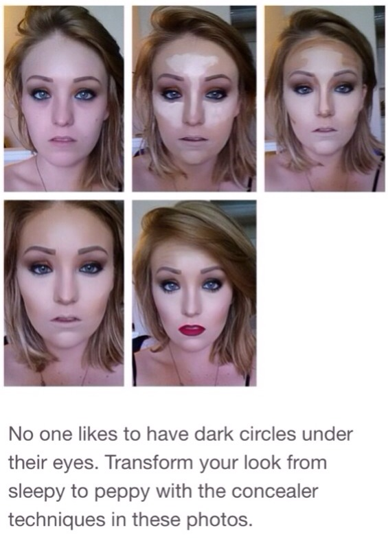 What makeup to use for dark circles under eyes