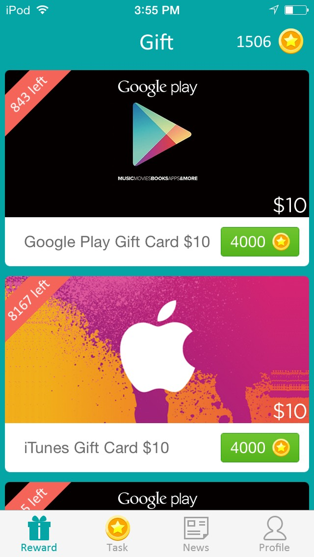 how to get free play store gift cards