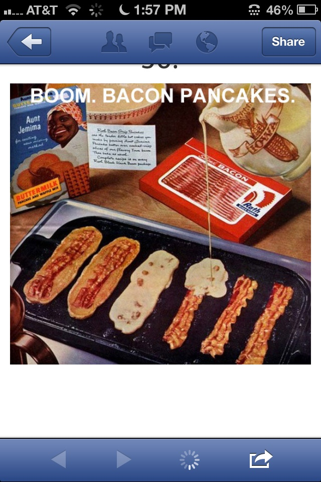 how to make bacon pancakes video