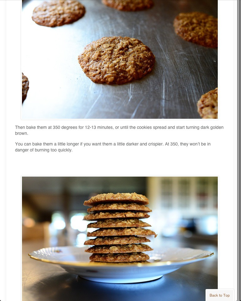how to make low calorie oatmeal cookies