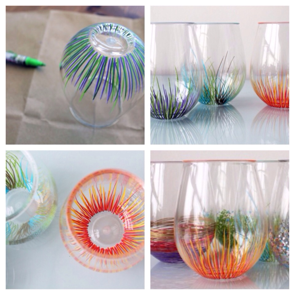 Diy Add A Pop Of Color To Your Glassware Musely