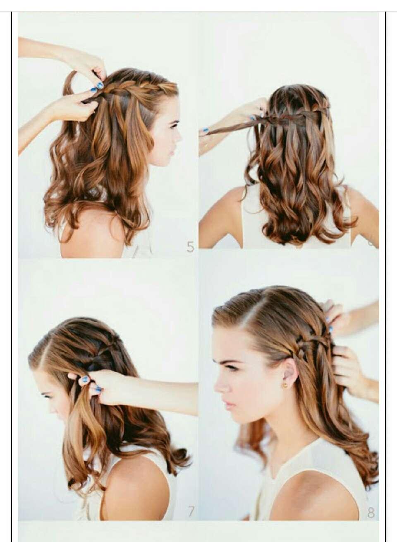 Прически для длинных волос фото и инструкция