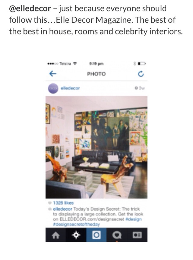Best instagram accounts for all things home musely for Best home decor accounts on instagram