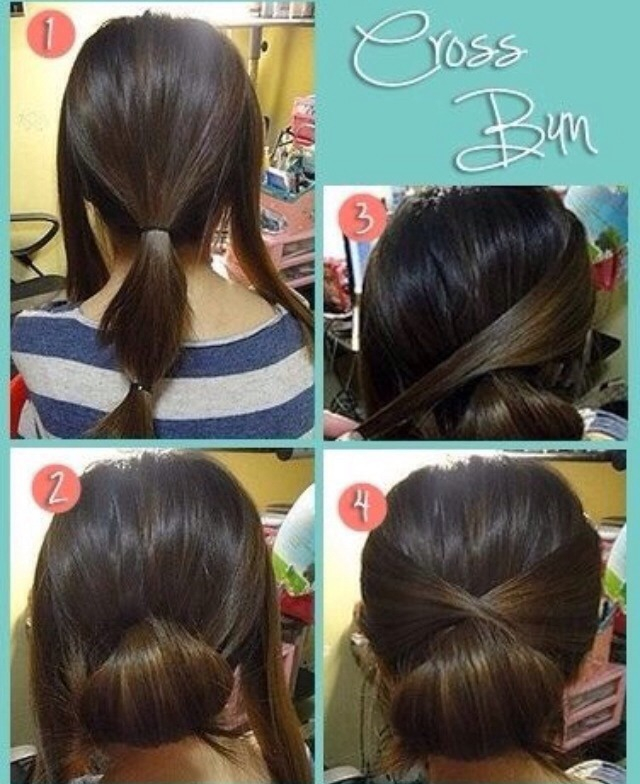 Lastest 15 Pretty Unique And Easy Bun Hairstyle Ideas Amp Tutorials  Gurlcom