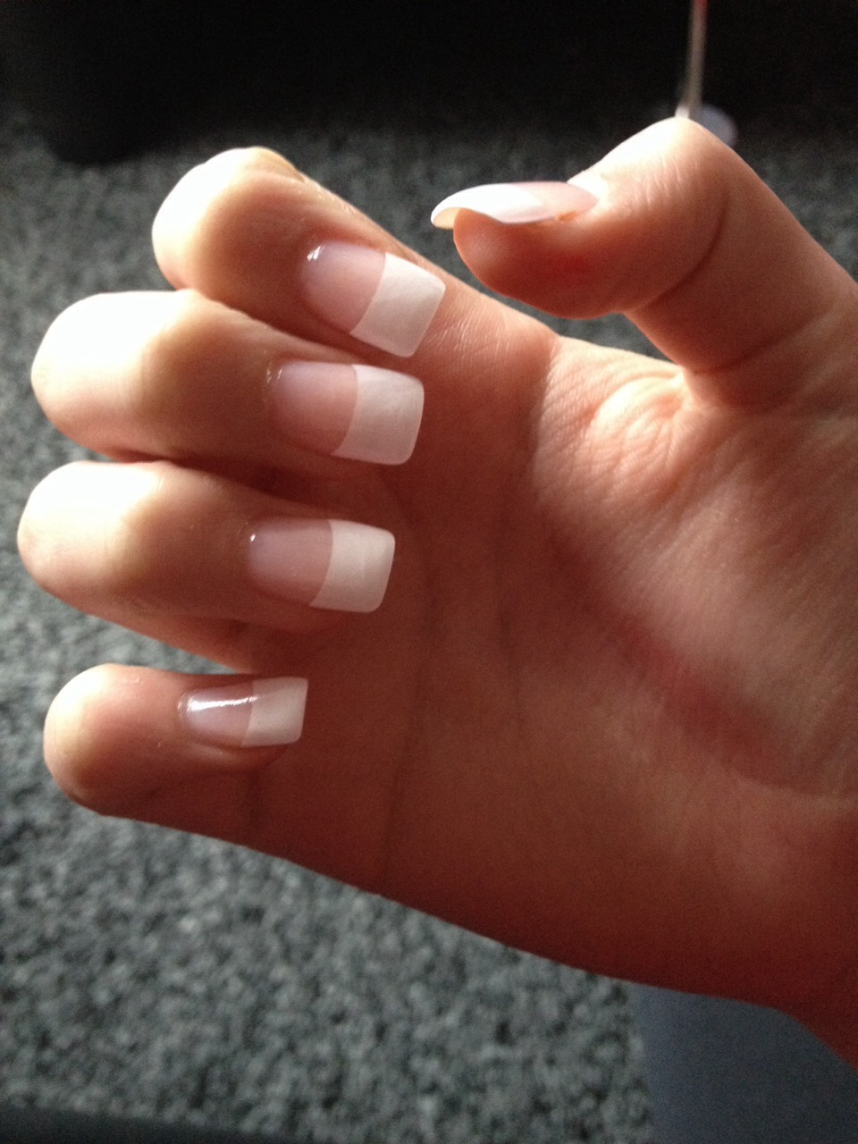 how to put on tips for your nails