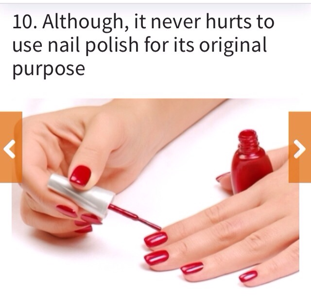10 non traditional ways to re use old nail polish musely for How to renew old nail polish