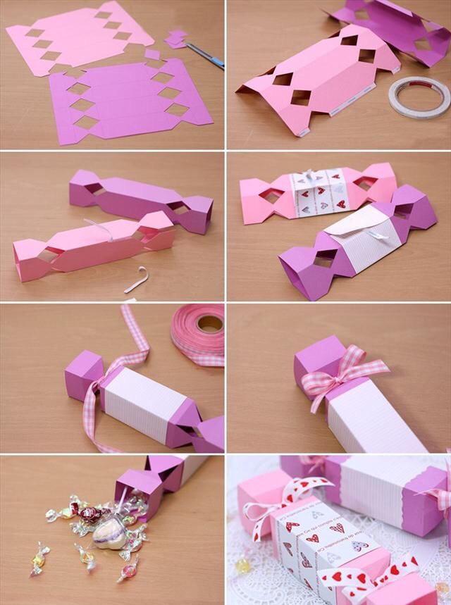 Как сделать подарок на своими руками из бумаги
