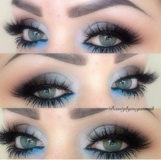 Make Blue Eyes Pop With Blue Eyeshadow Musely