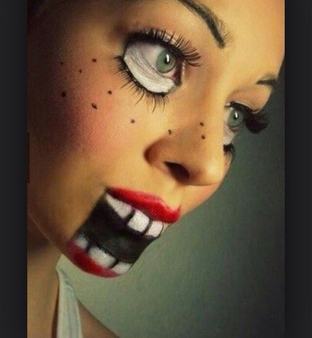 Сумасшедшие макияжи