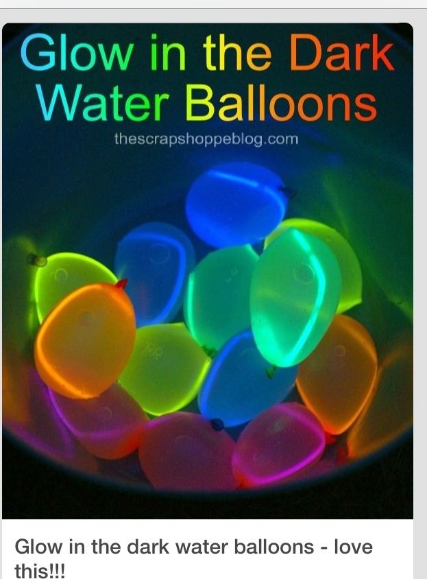 baloon glow in the dark ideas pictures to pin on pinterest pinsdaddy. Black Bedroom Furniture Sets. Home Design Ideas