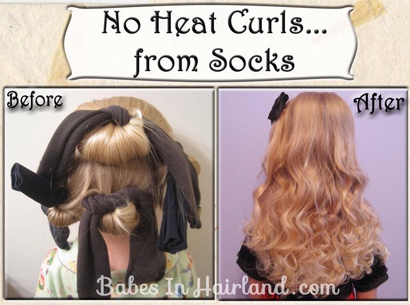 Как сделать легкие кудри на волосах без плойки и утюжка