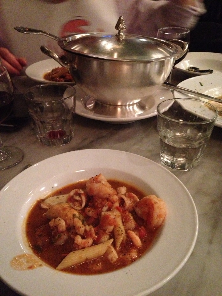 "The ""Best Damn Crab Cioppino"" with seafood. Serves two and is out of this world!"