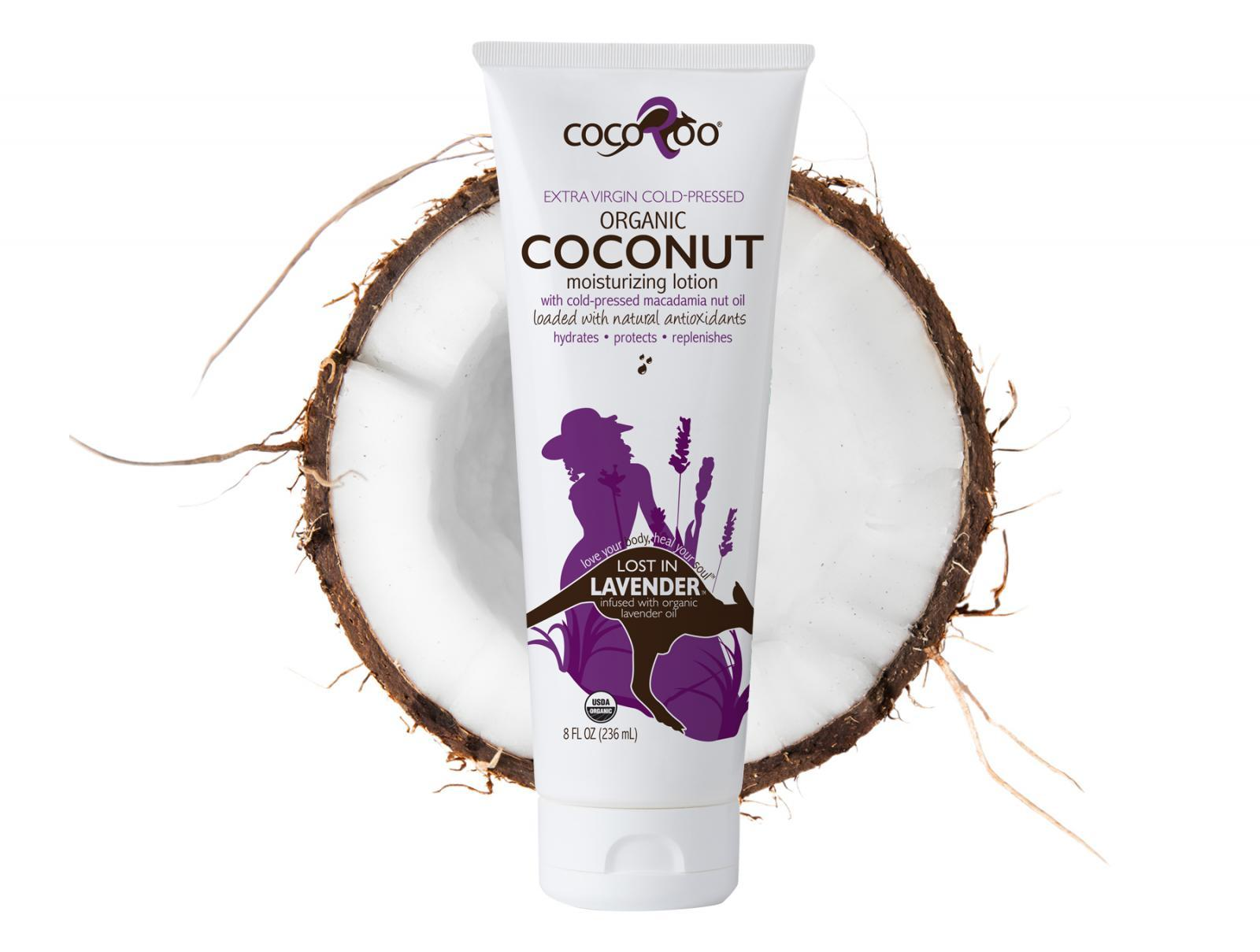 Lost in Lavender Coconut Oil Moisturizer