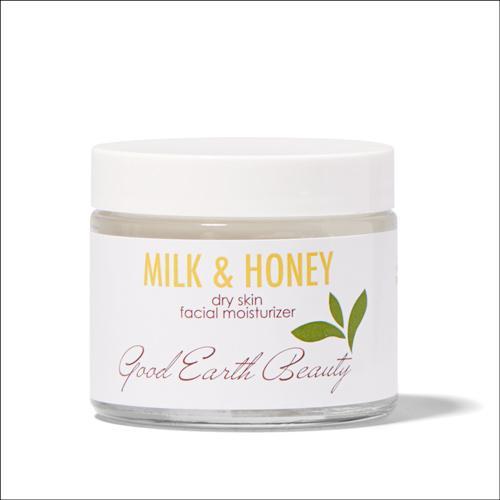 Facial Moisturizer - Natural Milk & Honey 2.3 Ounce by Good Earth Beauty
