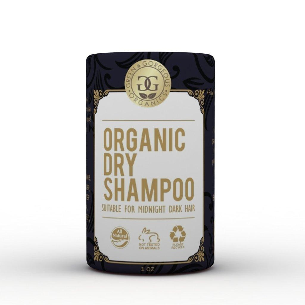 Organic Natural Dry Shampoo Powder Lavender and Bergamot For Dark Brown And Oily Hair  - Travel Size