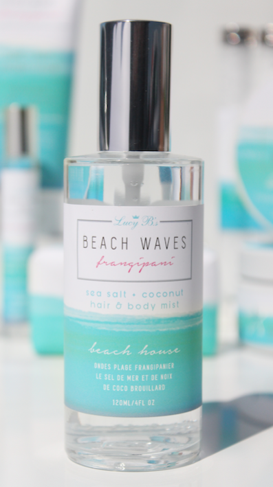 Beach Waves Frangipani Salt & Coconut Hair & Body Mist
