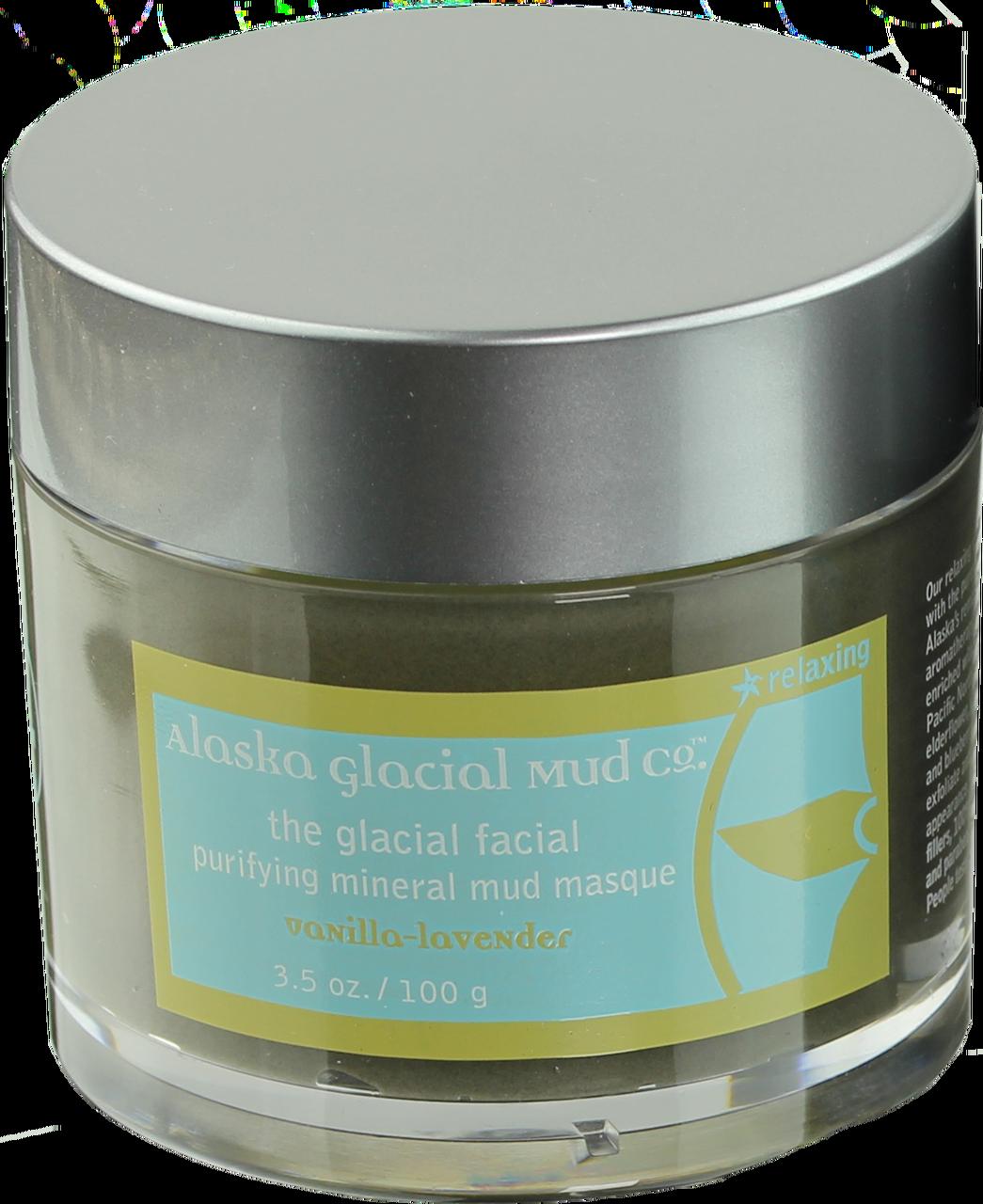 Glacial Facial Purifying Mineral Mud Masque - VANILLA-LAVENDER