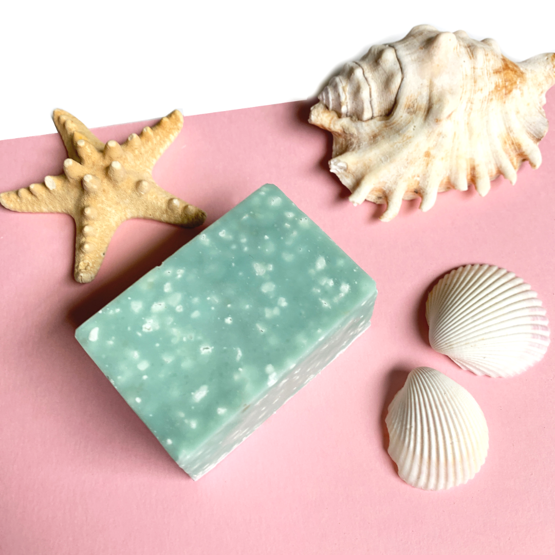 Eucalyptus + Mint Handmade Salt Soap