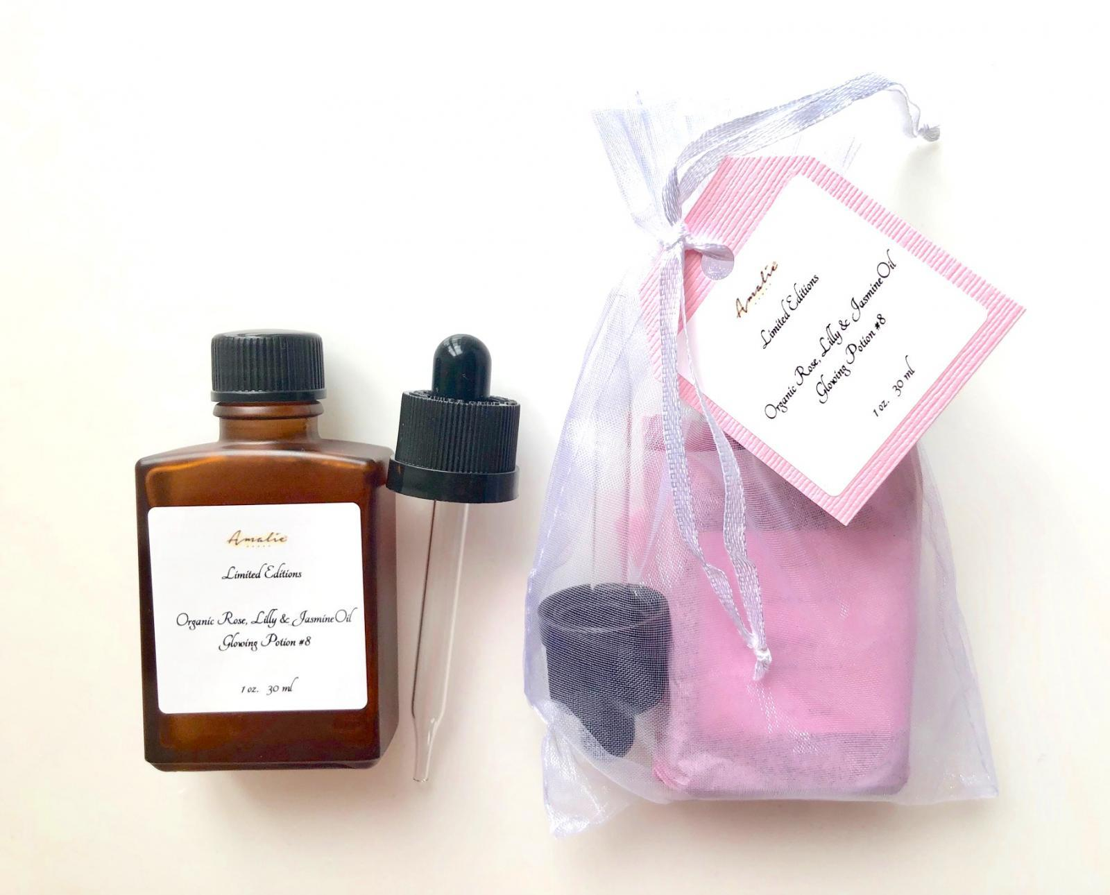 Organic Rose, Lilly & Jasmine Glowing Potion #8