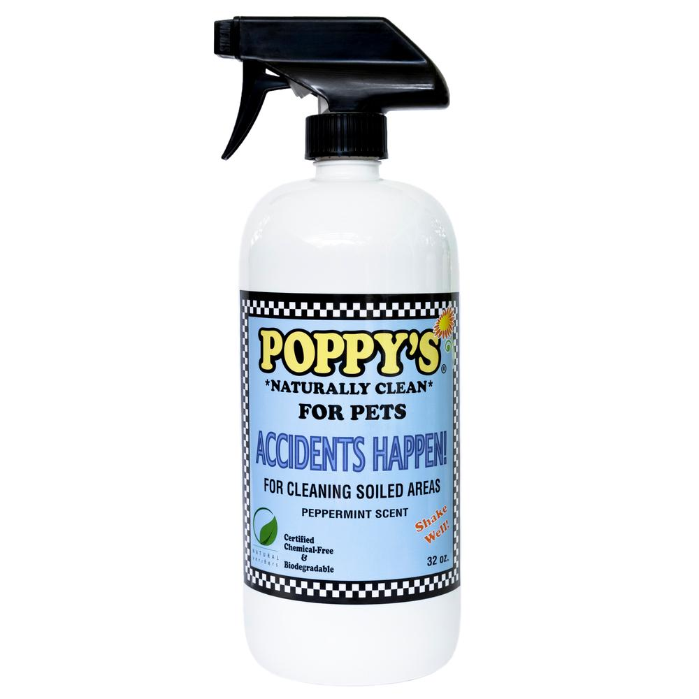 Accidents Happen! Pet Mess Spray Cleaner