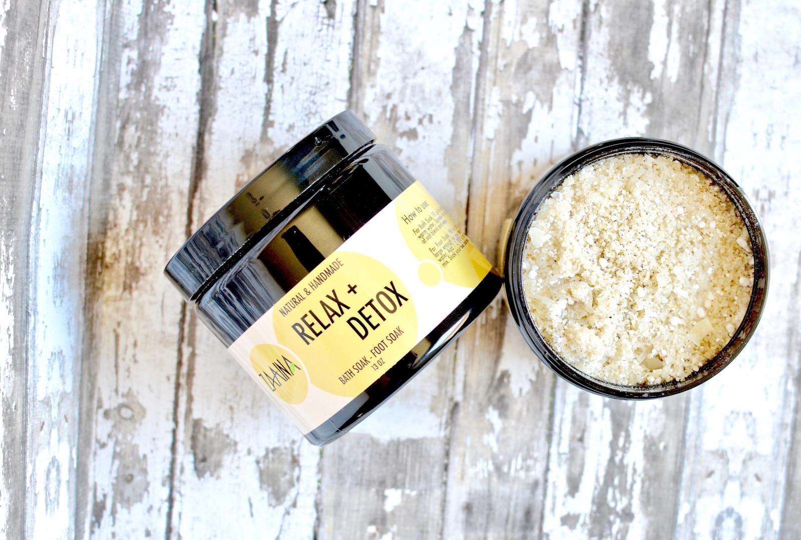 Relax & Detox Bath Salts
