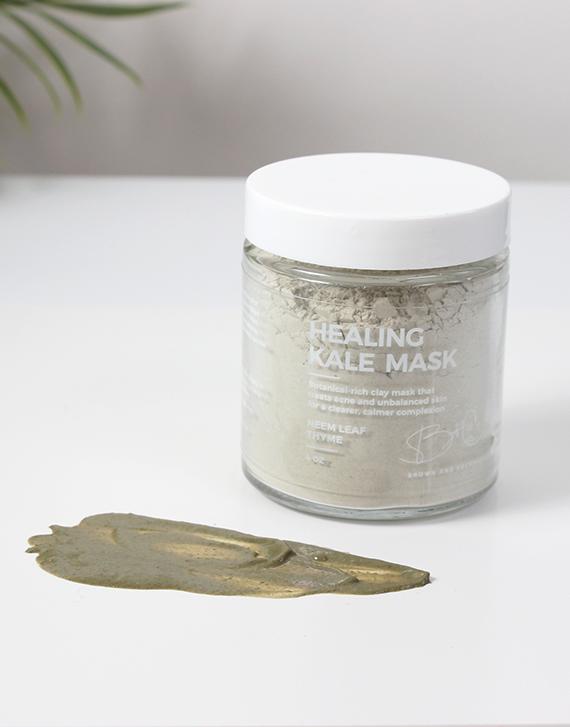 Healing Kale Mask