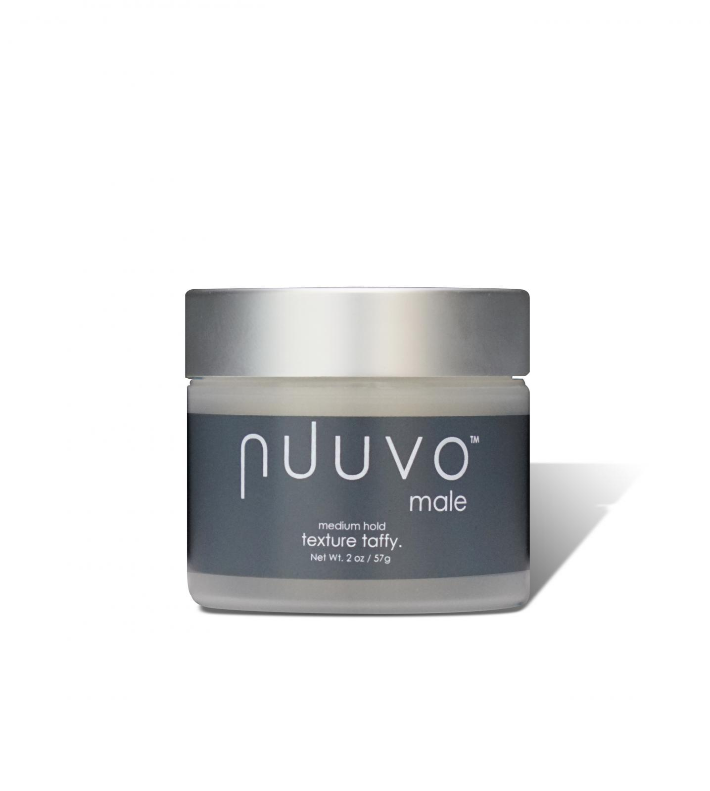 Nuuvo Haircare Texture Taffy - High Performance Sculpting Pomade for Molding, Gripping & Styling -  Medium Hold (Unisex)