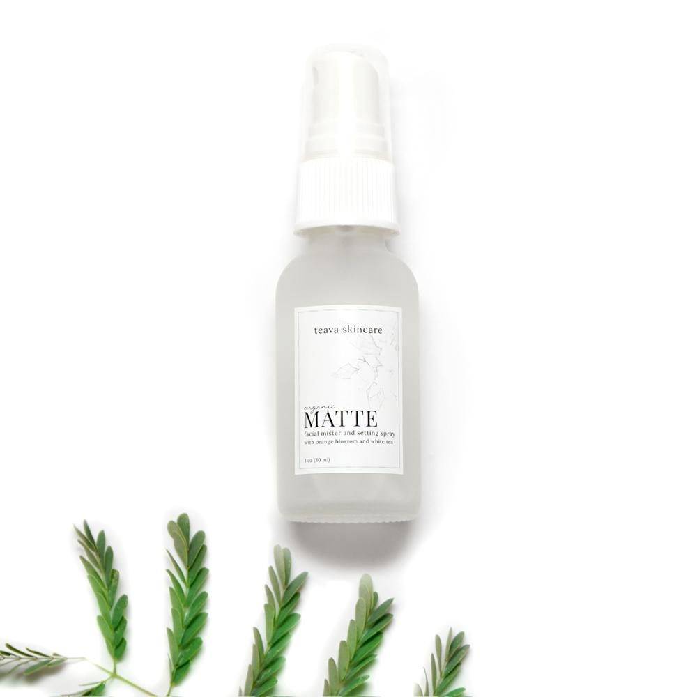 Matte Organic Oil Control Facial Mister & Setting Spray