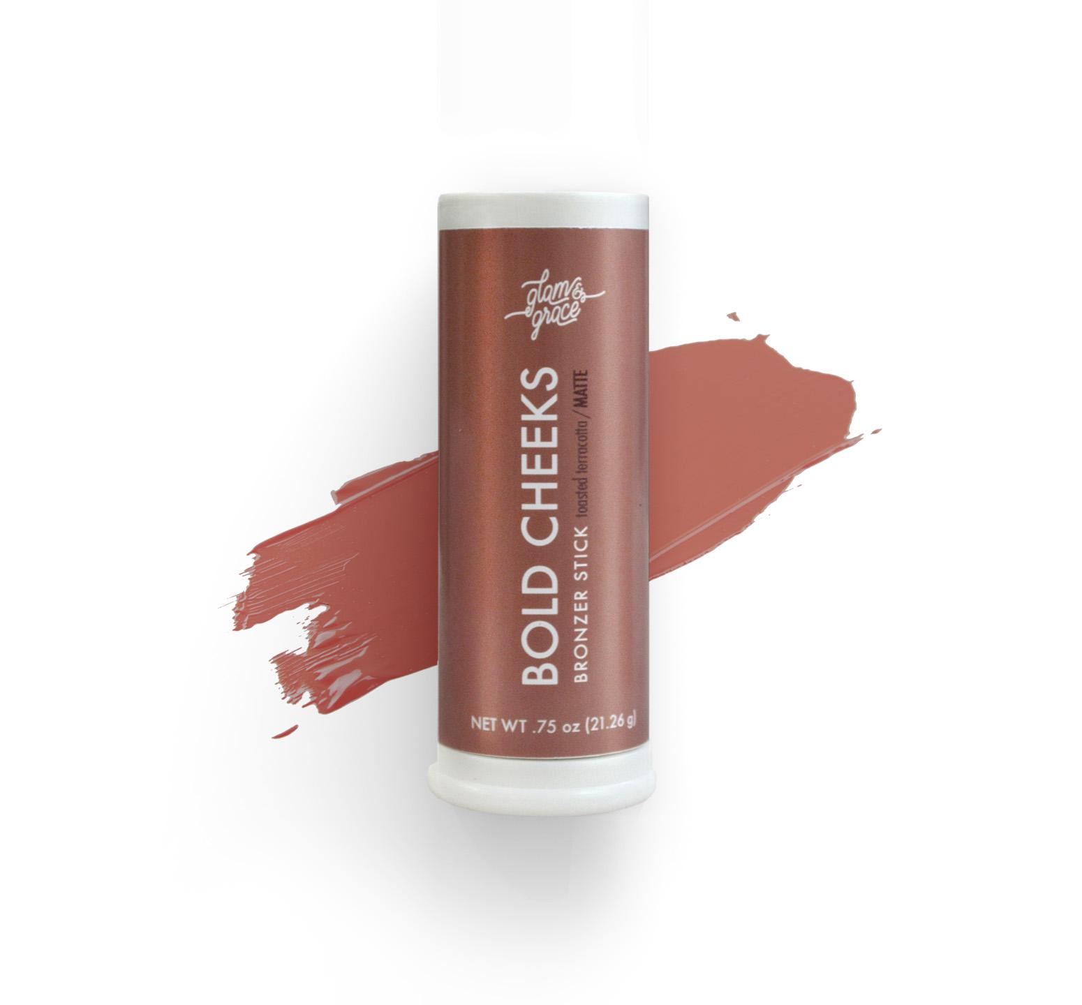 Bold Cheeks Bronzer Stick - Toasted Terracotta