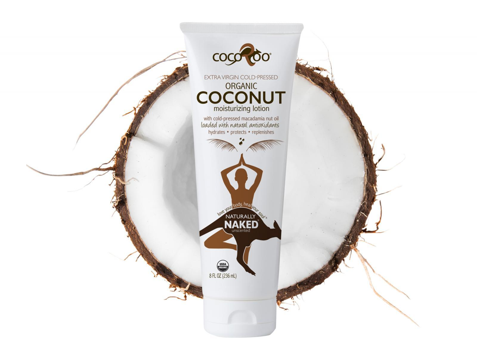 Naturally Naked Organic Coconut Oil Moisturizer