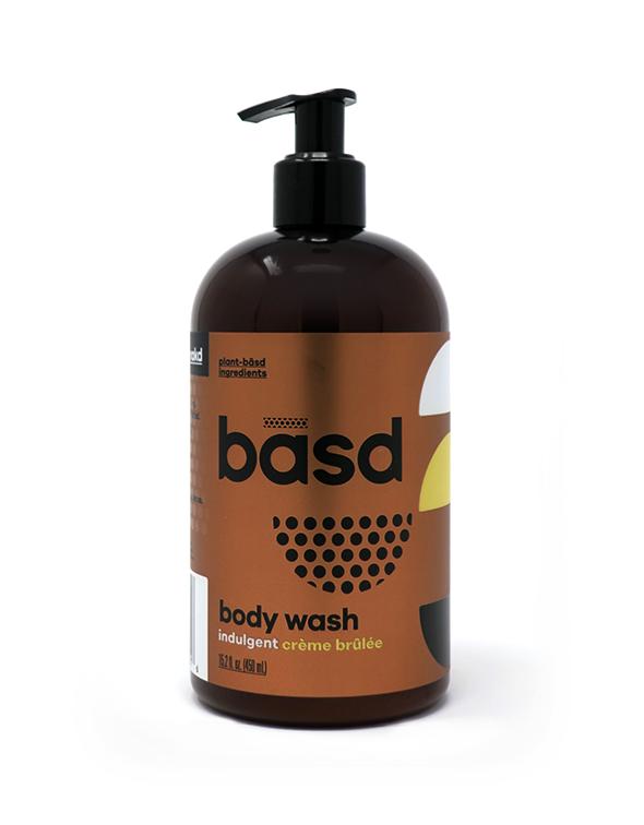 indulgent creme brulee body wash