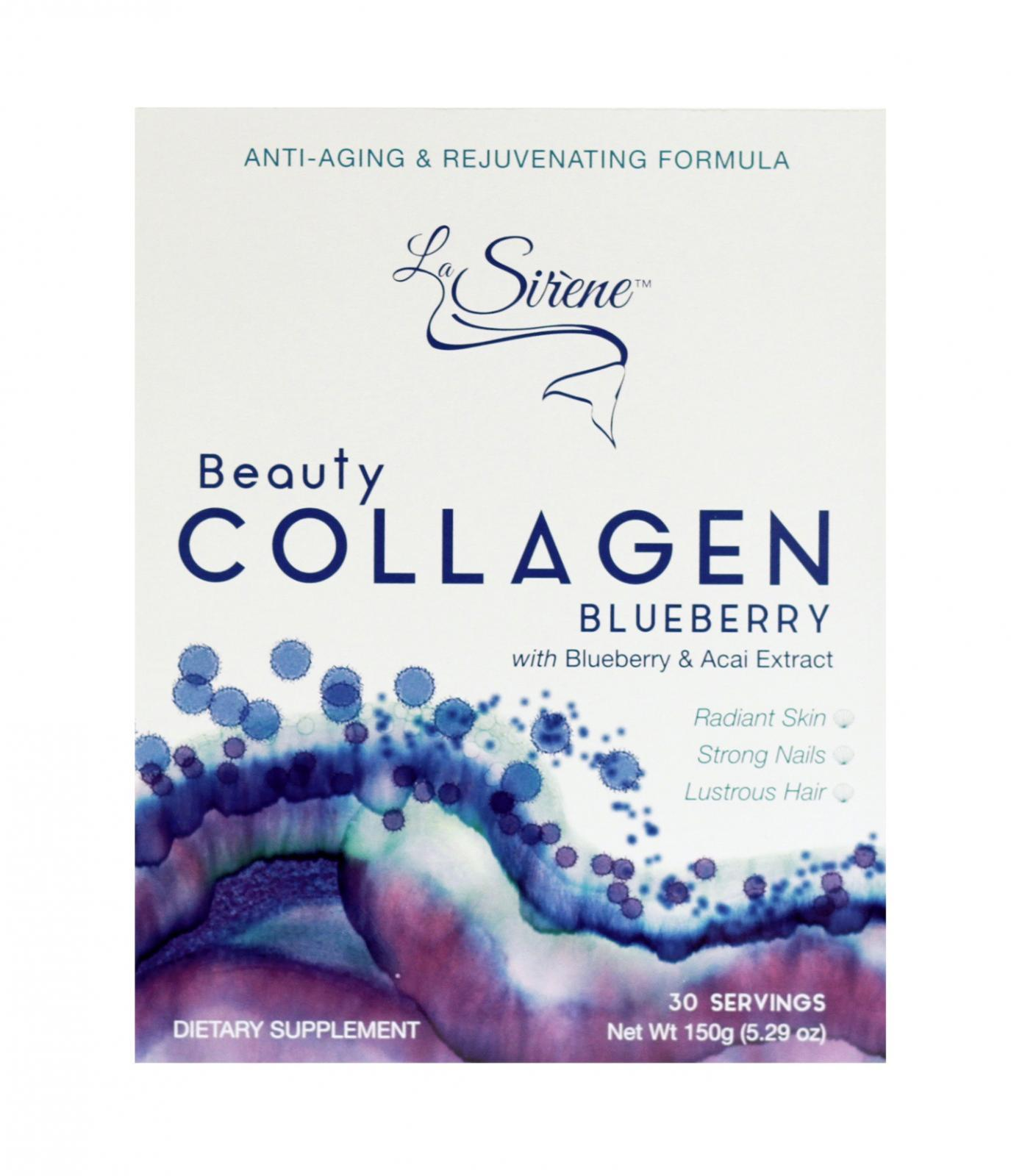 BLUEBERRY Beauty Marine Collagen Supplement