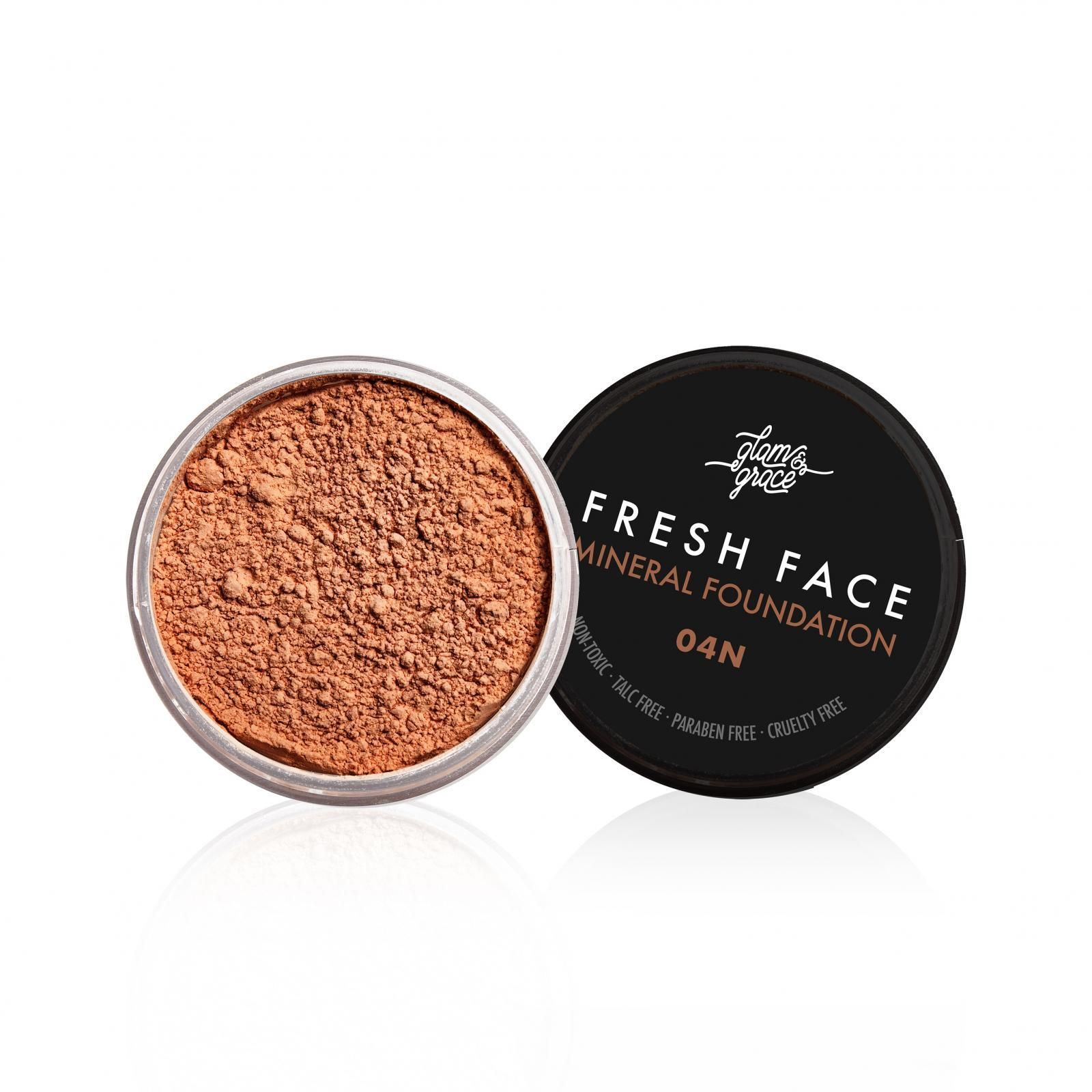FRESH Face Mineral Foundation Powder - Dark 04N