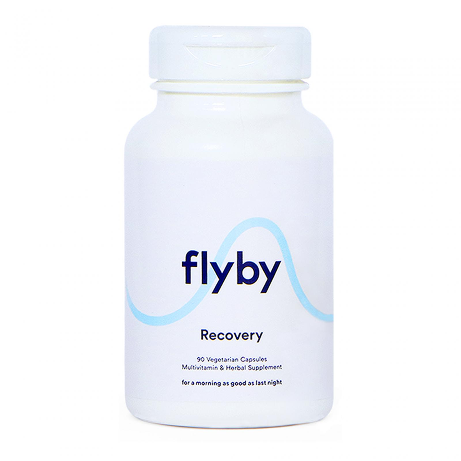 Flyby Bottle for Hangovers & Liver Support – 90 Capsules