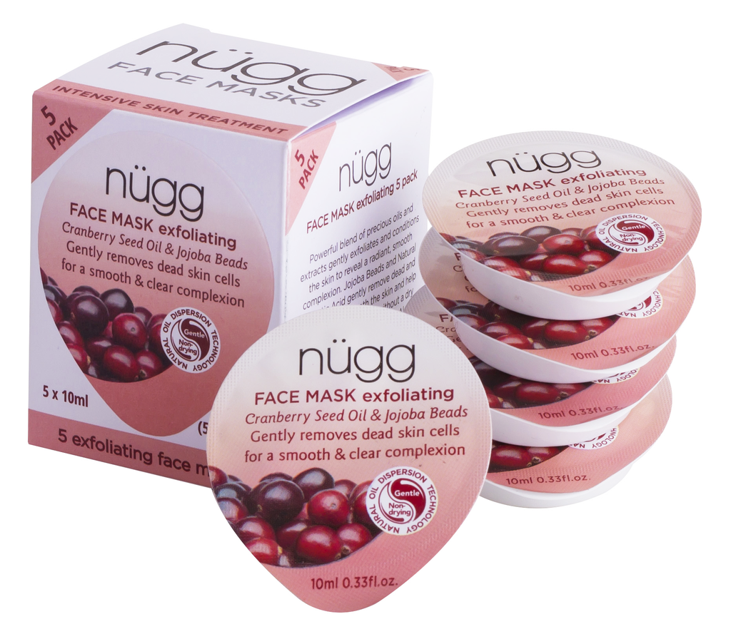 Exfoliating Face Mask 5-Pack