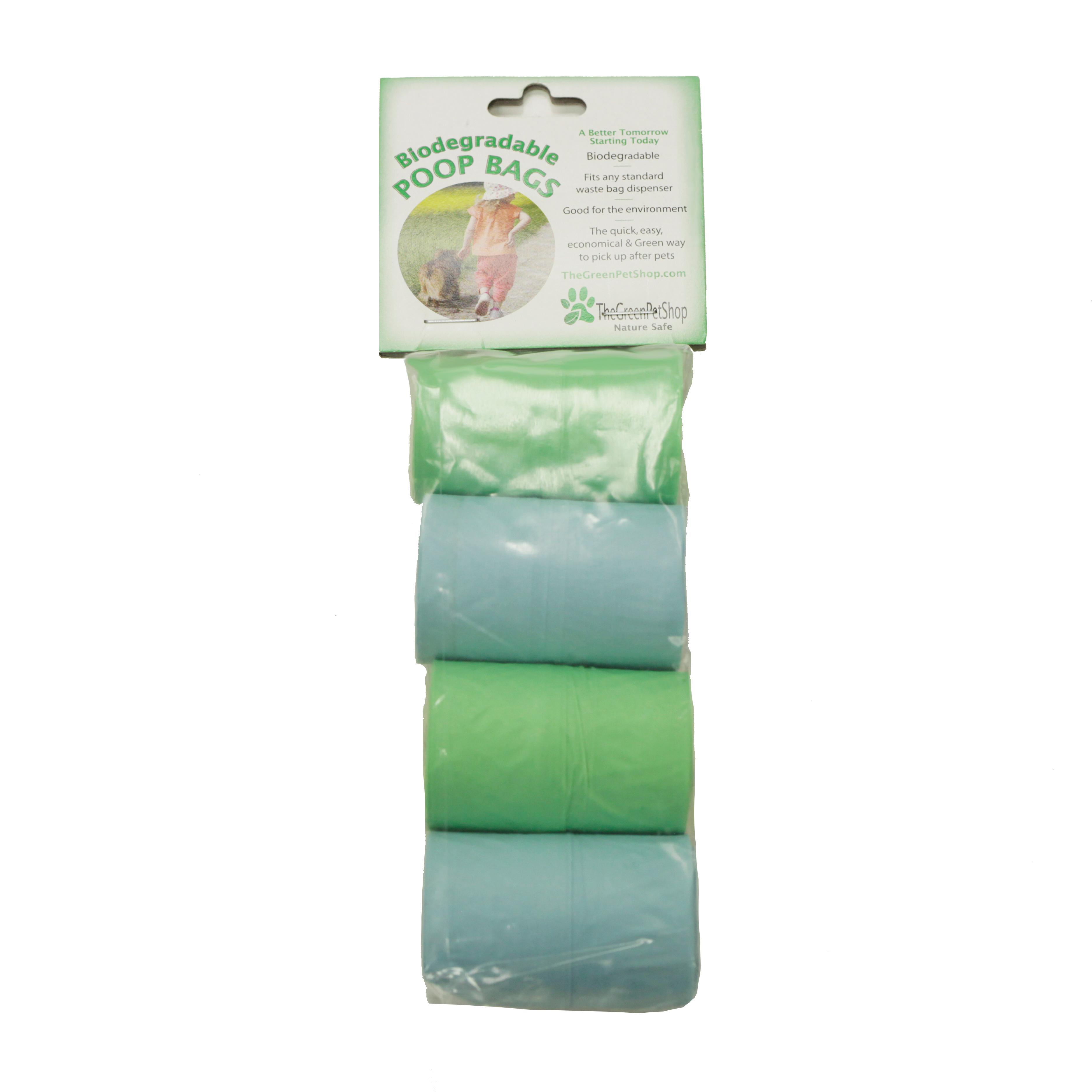 Biodegradable Poop Bag Rolls 4 Rolls