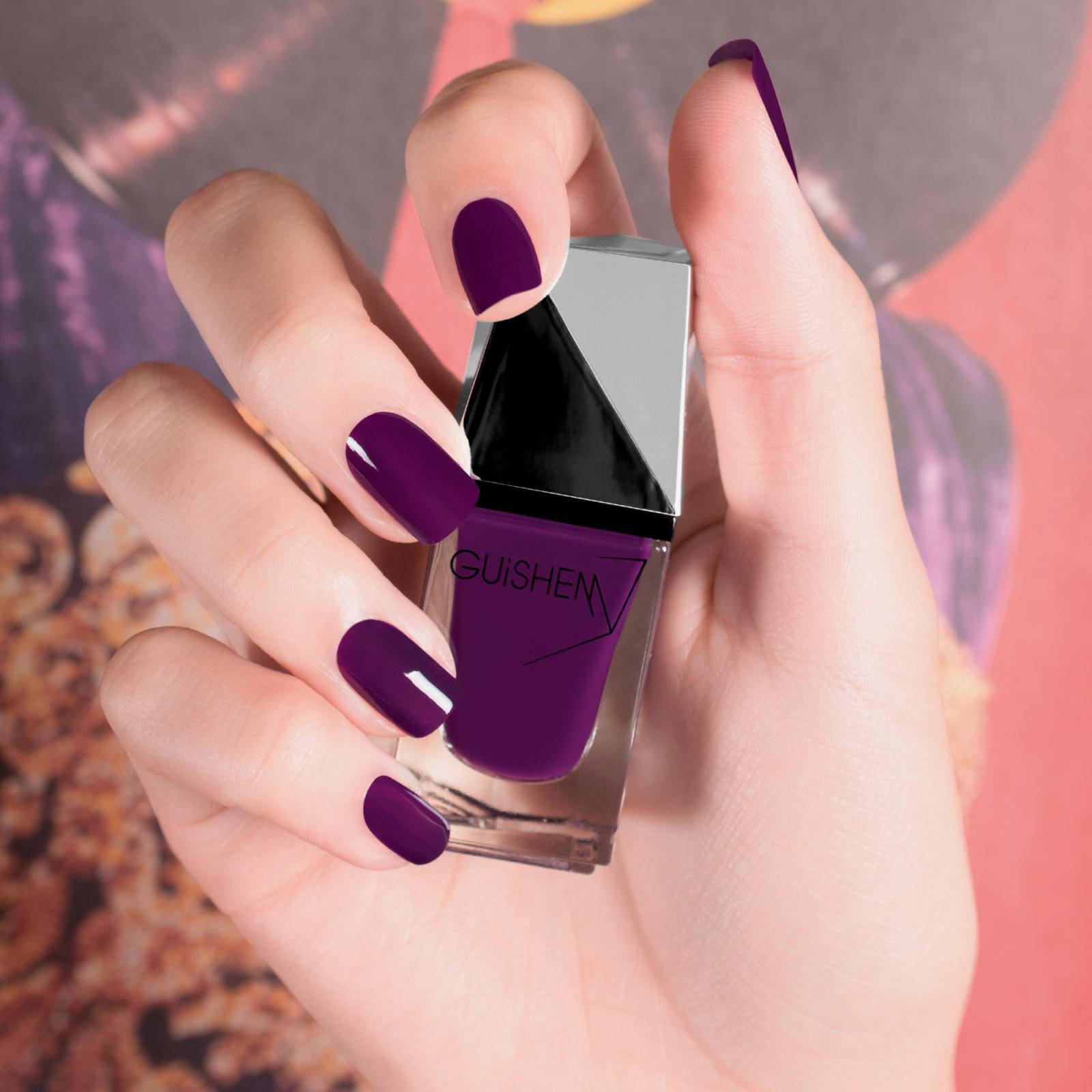 GUiSHEM Premium Nail Lacquer Crème Grape Juice, Imperial - 061